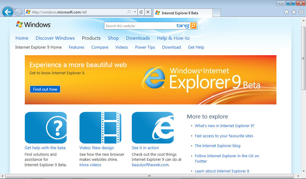 how to make website homepage on internet explorer