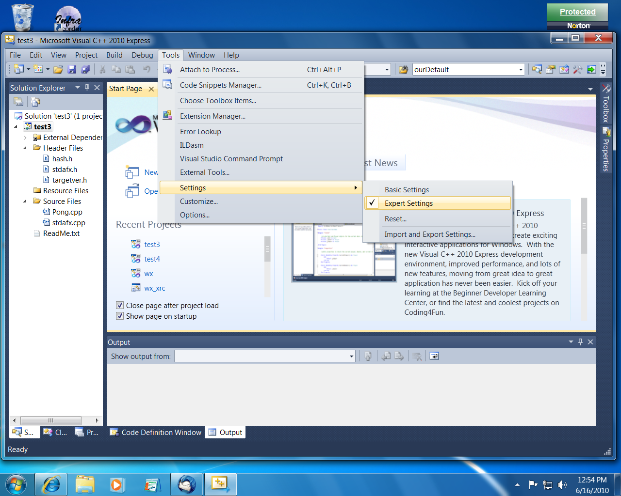 c++ - how to compile in visual studio 2010 [SOLVED]   DaniWeb