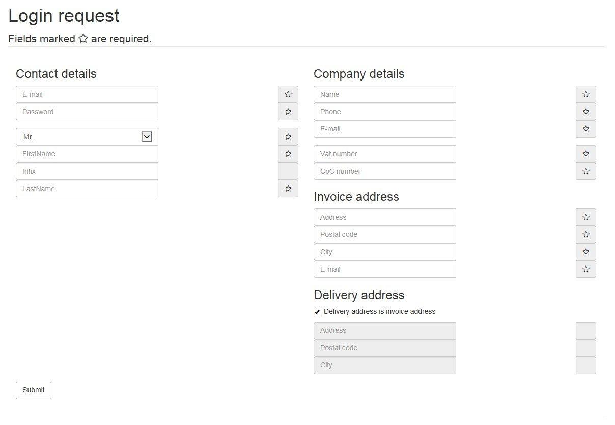 Bootstrap Fluid 2 Column Form Solved Daniweb