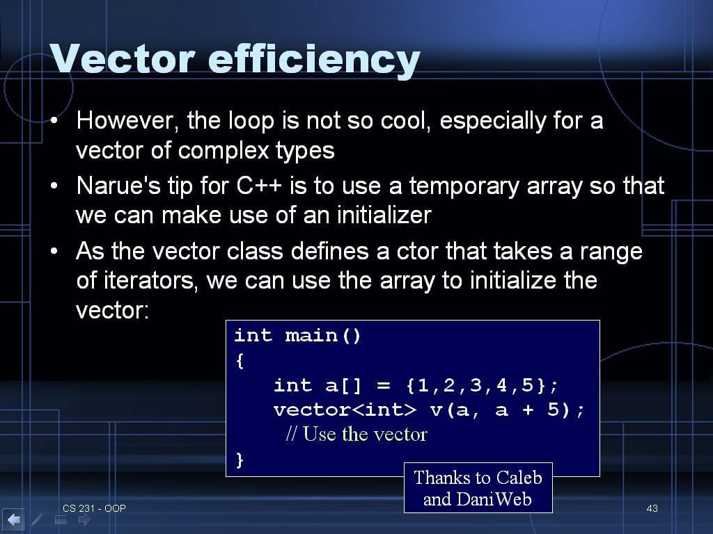C and C++ Timesaving Tips Page 2 | DaniWeb