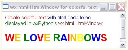 Starting wxPython (GUI code) Page 5 [SOLVED] | DaniWeb