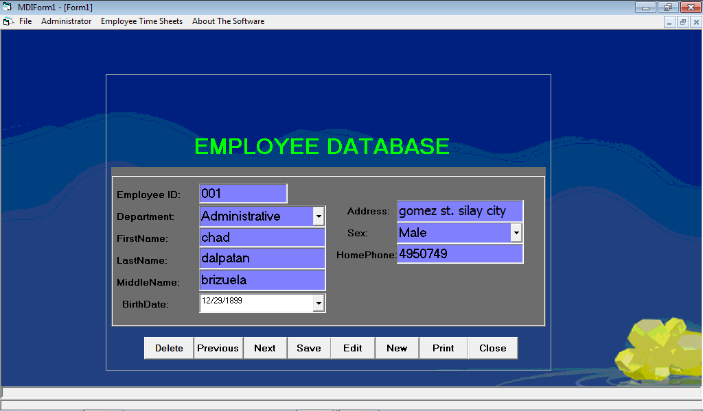 payroll system with daily time record View payroll system with daily time record using bio-metric authentication from cba 1 at first asia institute of technology and humanities information technology education laboratory to help them.