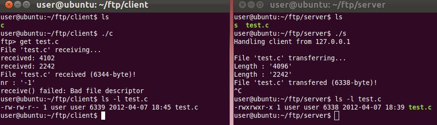ftp-server-client
