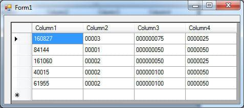 vb net - Read CSV/TXT file into DataGridView [SOLVED] | DaniWeb