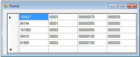 Datagridview Format Number With Comma